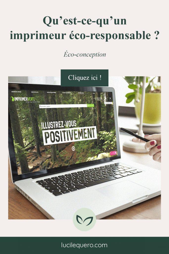 Article de blog Qu'est-ce-qu'un imprimeur éco-responsable ?