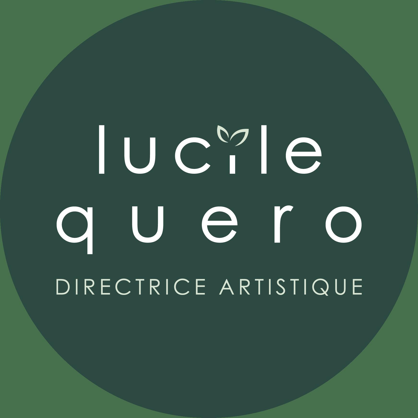 Logo de Lucile Quero Directrice Artistique Freelance